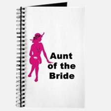Silhouette Aunt of the Bride Journal