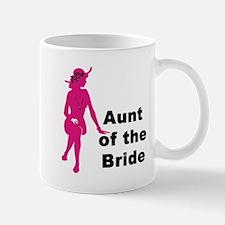 Silhouette Aunt of the Bride Mug