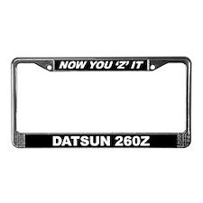 260Z License Plate Frame