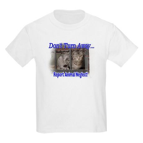 Don't turn away... Kids Light T-Shirt