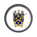 Miles Family Crest Wall Clock