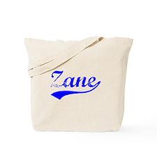 Vintage Zane (Blue) Tote Bag