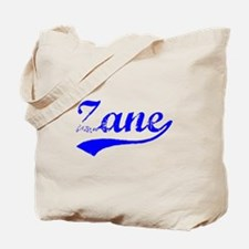 Vintage Zane (Blue) Tote Bag