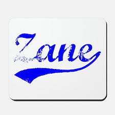 Vintage Zane (Blue) Mousepad