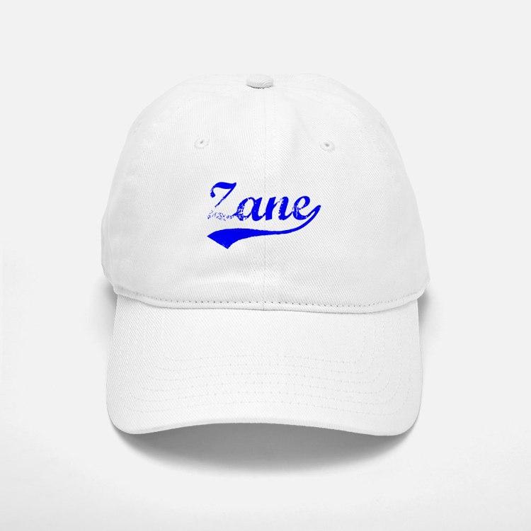 Vintage Zane (Blue) Baseball Baseball Cap