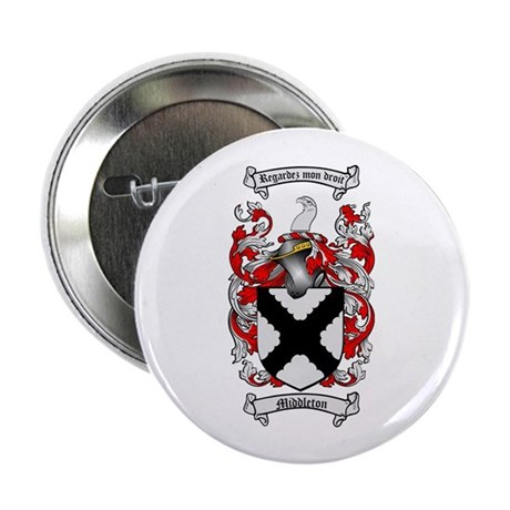 "Middleton Family Crest 2.25"" Button (100 pack)"