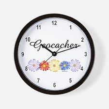 Geocacher Asters Wall Clock