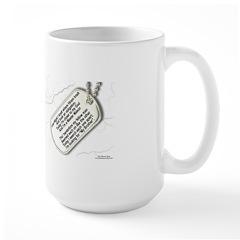 Masons Dog Tags Poem Mug