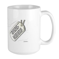 Masons Dog Tags Poem Mug