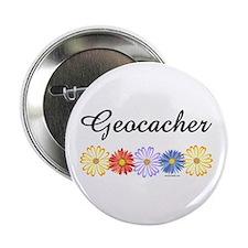 """Geocacher Asters 2.25"""" Button"""