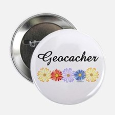 "Geocacher Asters 2.25"" Button"