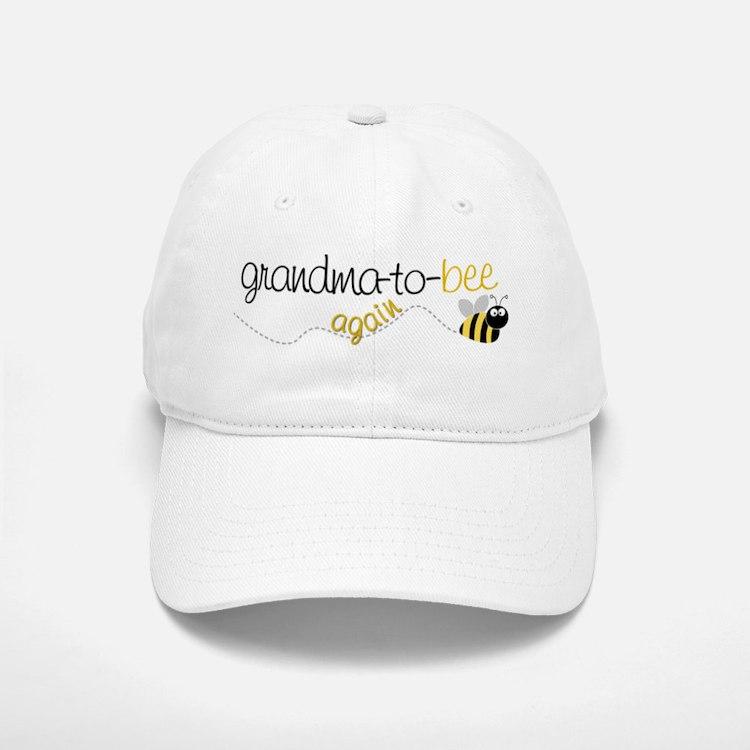 grandma to bee again Baseball Baseball Cap