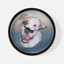 Rosie, Am Bulldog Wall Clock