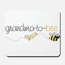 grandma to bee again Mousepad