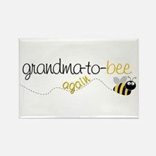 grandma to bee again Rectangle Magnet