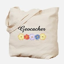 Geocacher Asters Tote Bag