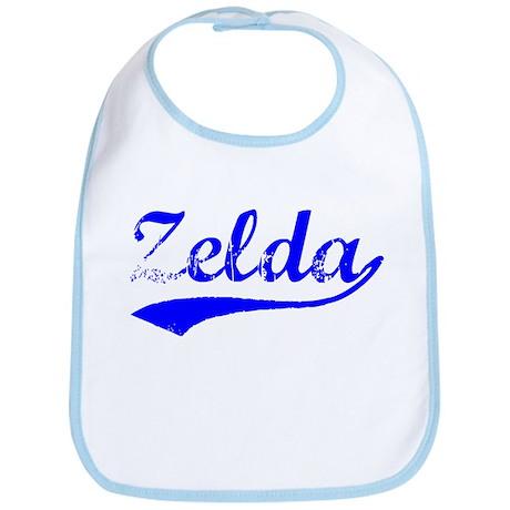 Vintage Zelda (Blue) Bib