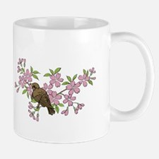 Bird in Cherry Tree Mug