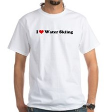 I Love Waterskiing Shirt