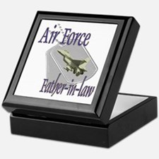Jet Air Force Father-in-law Keepsake Box