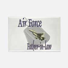 Jet Air Force Father-in-law Rectangle Magnet
