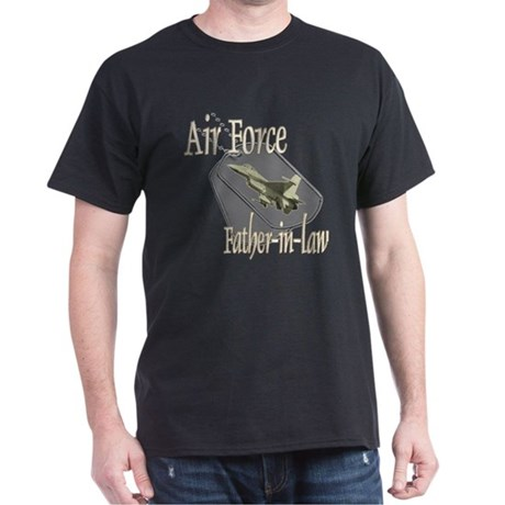 Jet Air Force Father-in-law Dark T-Shirt