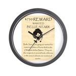 Belle Starr Wall Clock