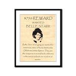 Belle Starr Framed Panel Print