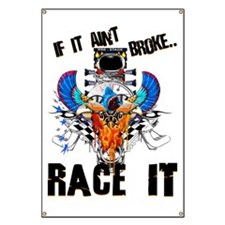 Race It Garage Banner