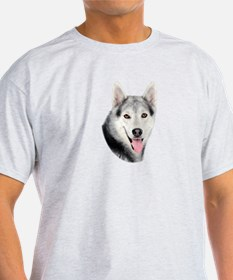 Siberian Huskie Picture T-Shirt