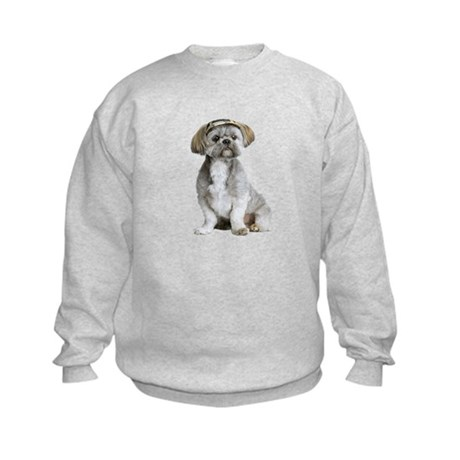 Shih Tzu Picture - Kids Sweatshirt