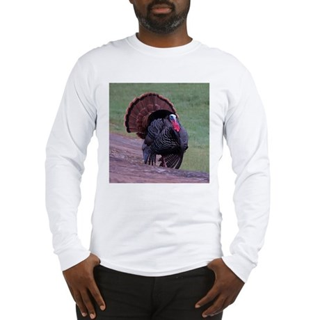 Strutting Tom Turkey Long Sleeve T-Shirt