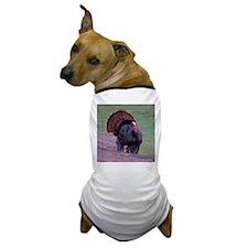 Strutting Tom Turkey Dog T-Shirt