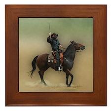 The Bandit - Framed Tile