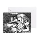 Large Alice Greeting Cards (Pk of 10)