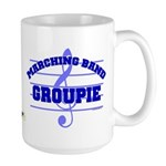 Marching Band Groupie Large Mug
