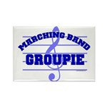 Marching Band Groupie Rectangle Magnet