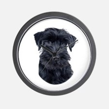Schnauzer Picture - Wall Clock