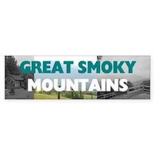 Smoky Mountains Americasbesthisto Bumper Sticker