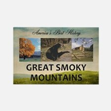 Smoky Mountains Americasbesthisto Rectangle Magnet