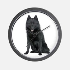 Schipperke Picture - Wall Clock