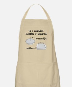 Pi R Rounded BBQ Apron