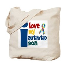 I Love My Autistic Son 1 Tote Bag