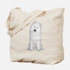 Samoyed Picture - Tote Bag