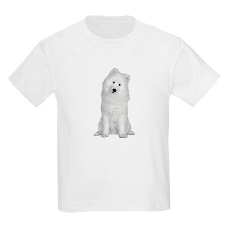 Samoyed Picture - Kids Light T-Shirt