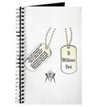 Masons Dog Tag Poem Journal