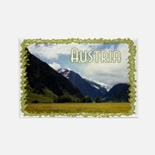 ...Austrian View... Rectangle Magnet