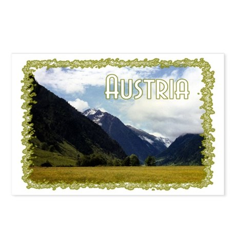 ...Austrian View... Postcards (Package of 8)