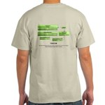 Visitor Pattern 2 Sided Light T-Shirt