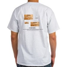 Composite Pattern 2 Sided T-Shirt